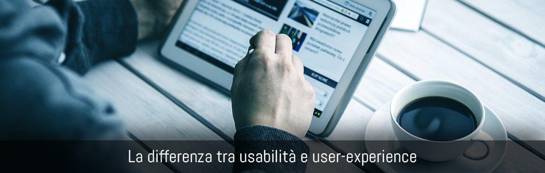 La differenza tra usabilità e user experience banner copertina